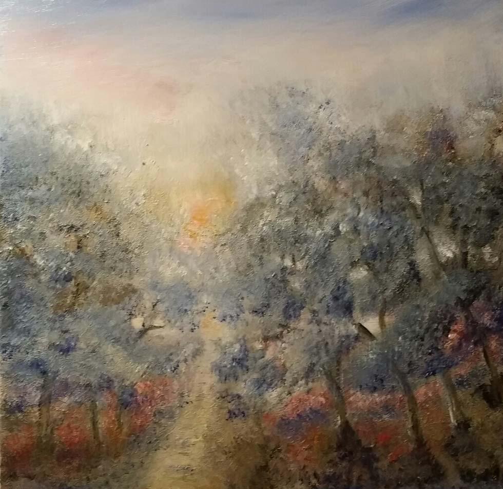 Sti gjennom blå skog - Heidi Frich Andersen